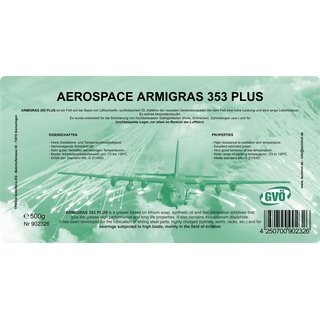 Techmol AEROSPACE ARMIGRAS 353 PLUS 400g Euro Kartusche -73 bis 130° C